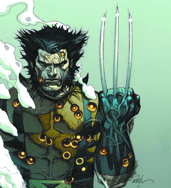 Wolverine, da una copertina di Leinil Francis Yu per Civil War - Fallen son